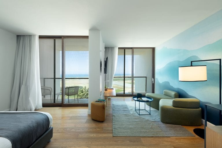 Deluxe Room with Balcony & Sea View